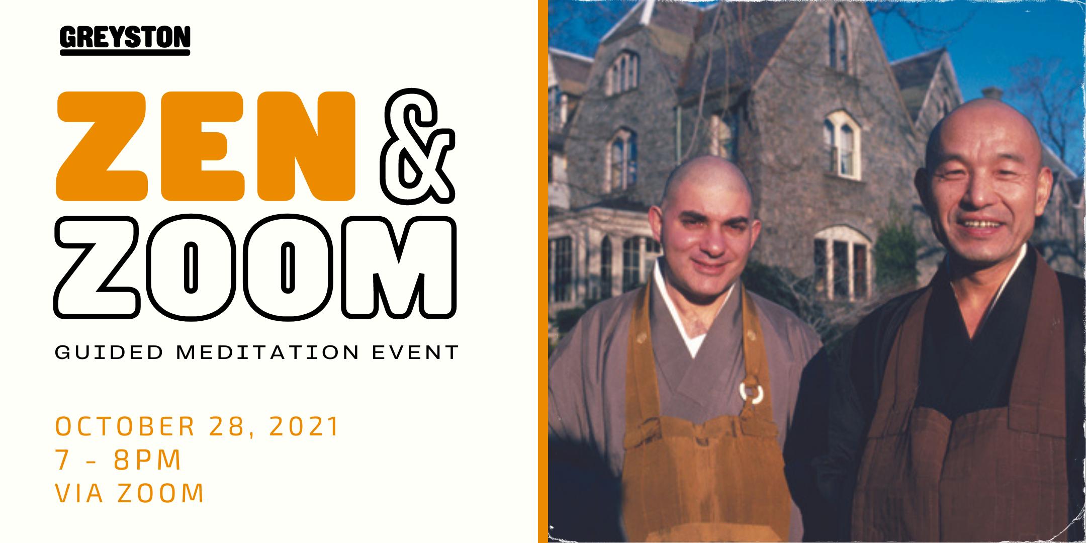 Zen & Zoom Greyston Meditation Event | Greyston Open Employment